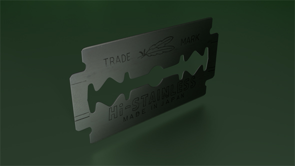Razor Blade - 3DOcean Item for Sale