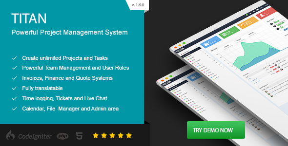 TITAN - Project Management System nulled free download