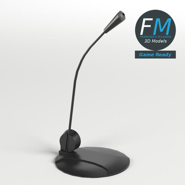 Desk Microphone GR - 3DOcean Item for Sale