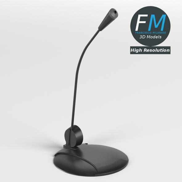 Desk Microphone - 3DOcean Item for Sale