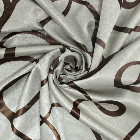 Fabric Seamless Texture drapes (modern style gray and brown) - 3DOcean Item for Sale