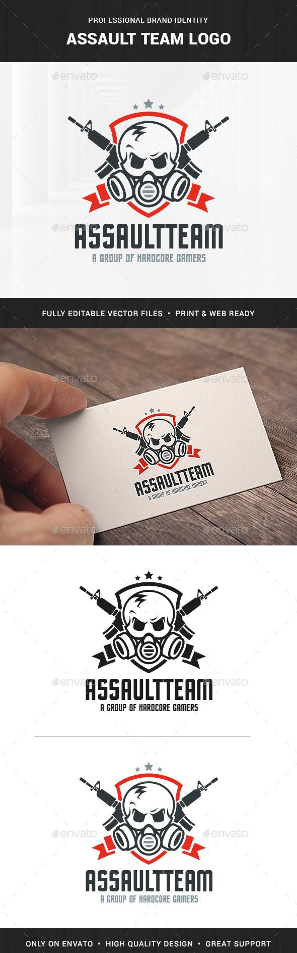 Assault Team Logo Template - Logo Templates