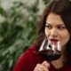 Pretty Flirting Woman Drinking Wine - VideoHive Item for Sale