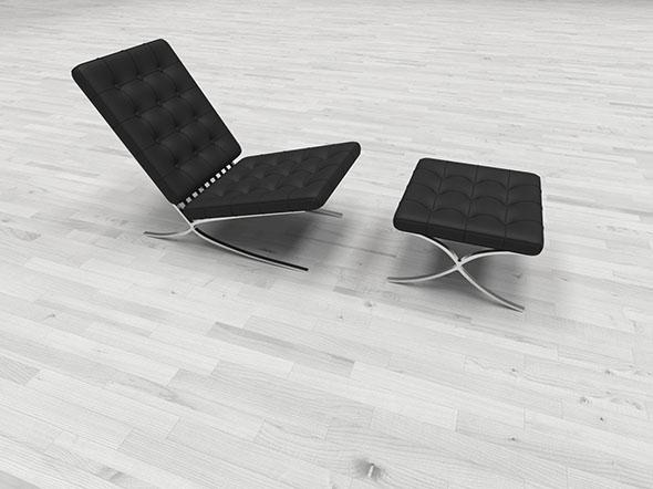 "Armchair ""Barcelona"" - 3DOcean Item for Sale"