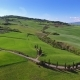 Tuscany Aerial Landscape of Farmland Hill Country - VideoHive Item for Sale