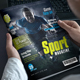 Sport Magazine - GraphicRiver Item for Sale