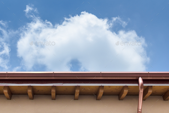 Gutter - Stock Photo - Images