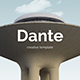 Dante Creative Powerpoint Template