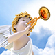 Angel With A Horn - VideoHive Item for Sale