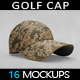 Golf Cap Mockup - GraphicRiver Item for Sale