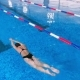 Woman Swimming in a Swimming Pool - VideoHive Item for Sale