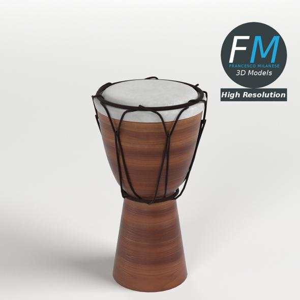 Bongo Drum HR - 3DOcean Item for Sale