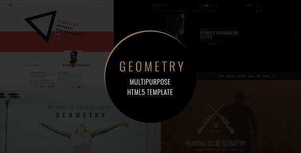 Geometry — Multipurpose HTML5 Template - Creative Site Templates