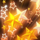 Golden Stars Flashing - VideoHive Item for Sale