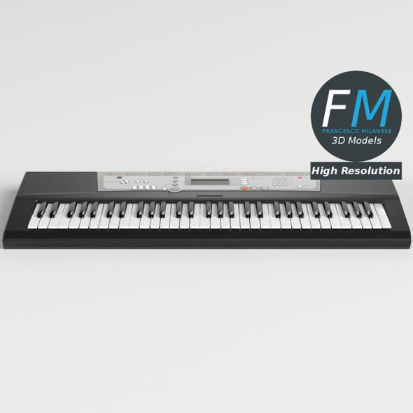 Electronic Piano Keyboard - 3DOcean Item for Sale