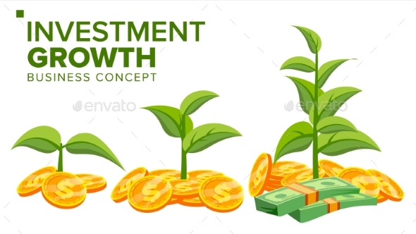 Business Growth Concept Vector - Concepts Business