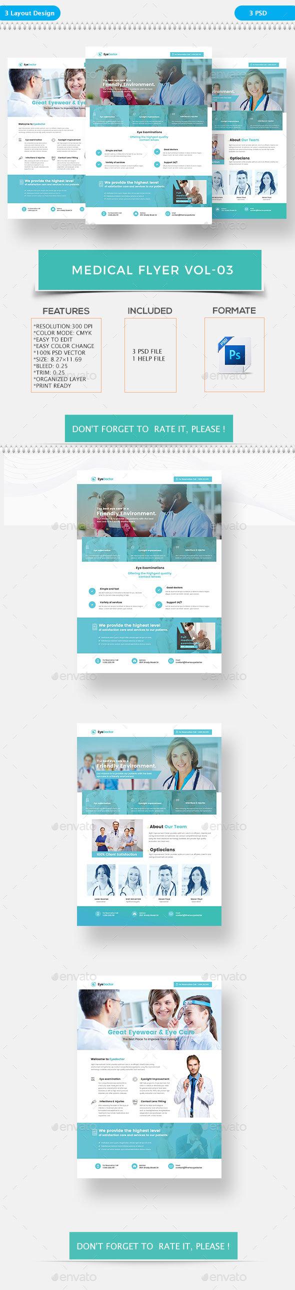 Medical Flyer 03 - Flyers Print Templates