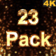 23 Sparks 4K - VideoHive Item for Sale