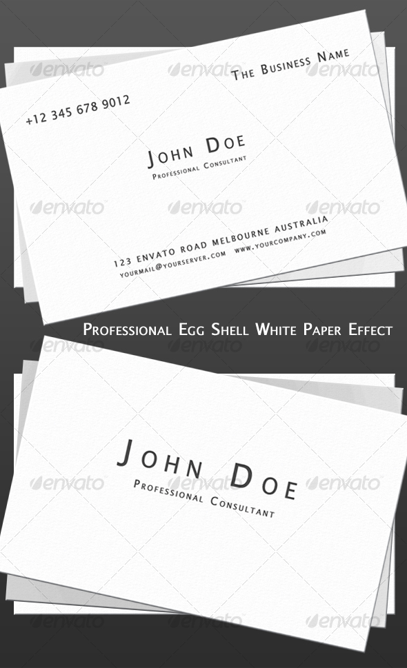 Professional Old School Business Card - Corporate Business Cards