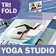 Yoga Studio Trifold Brochure 3 - GraphicRiver Item for Sale