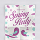 Spring Party Flyer Vol.2 - GraphicRiver Item for Sale