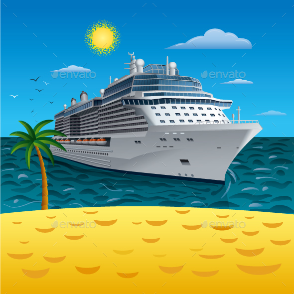 Cruise Resort - Travel Conceptual