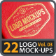 22 Photorealistic Logo Mock-ups Vol.03