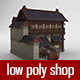 Ancient Chinese Shop - 3DOcean Item for Sale
