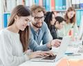 University students studying together - PhotoDune Item for Sale