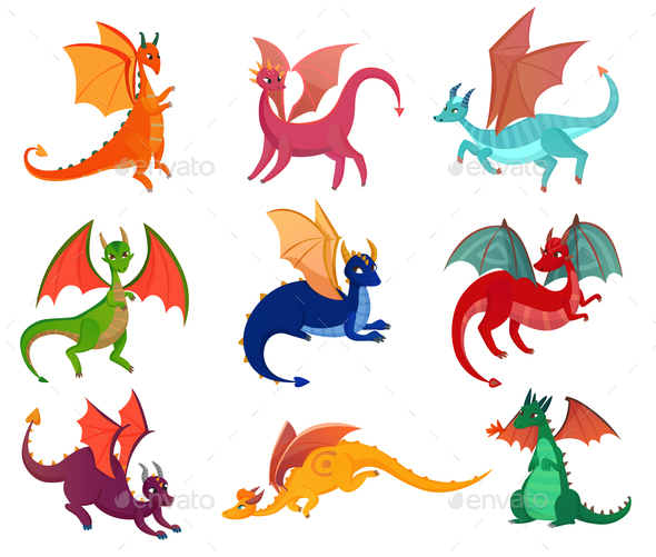 Dragons Set - Miscellaneous Characters