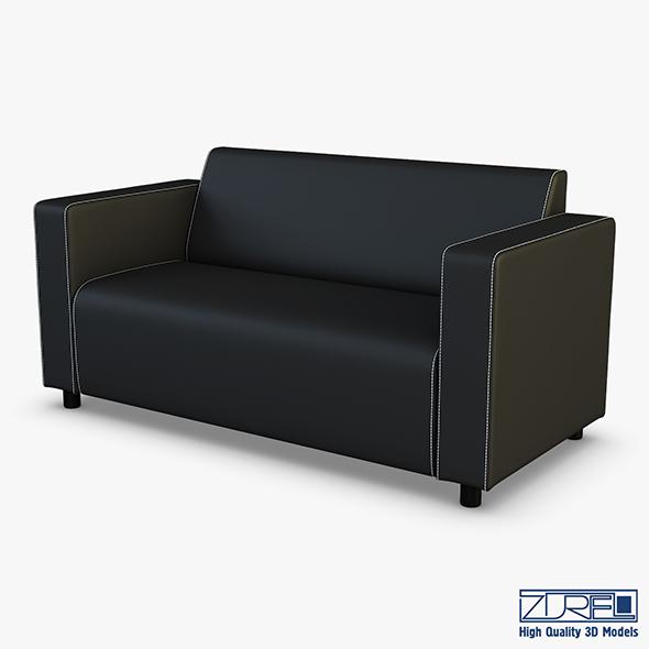 Alpha Sofa v 1 - 3DOcean Item for Sale