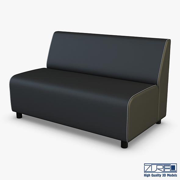 Alpha Sofa v 2 - 3DOcean Item for Sale