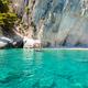 View of  Keri blue caves  in Zakynthos (Zante) island, in Greece - PhotoDune Item for Sale