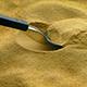 Spoon Scoops Up Food Powder
