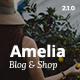 Amelia - Clean Blog & Magazine WordPress Theme + Woocommerce - ThemeForest Item for Sale