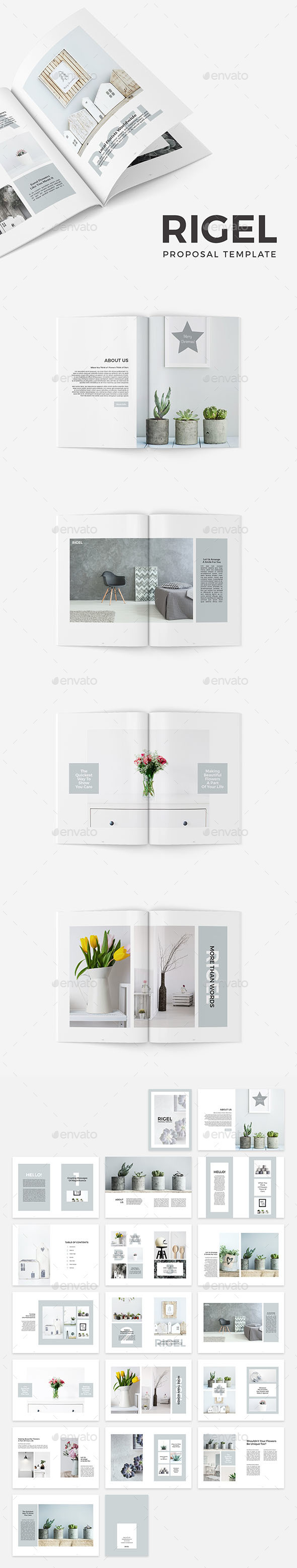 Rigel Proposal Template - Catalogs Brochures