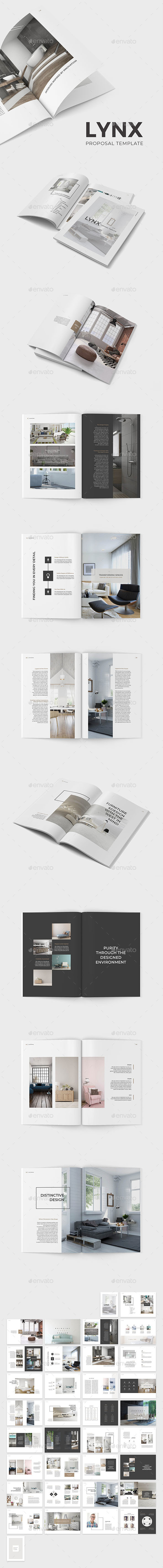 Lynx Proposal Template - Catalogs Brochures