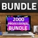 2000 Professional Bundle Infographics - GraphicRiver Item for Sale