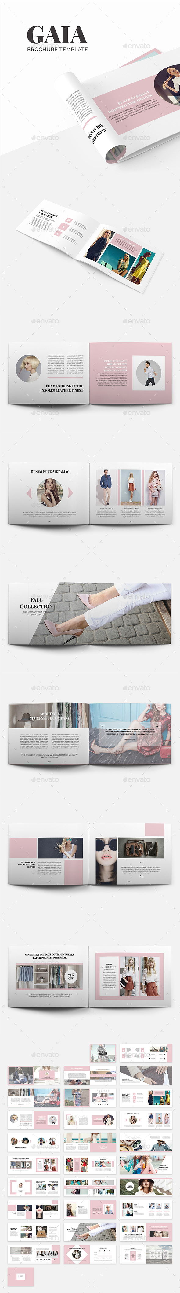 Gaia Brochure Template - Catalogs Brochures