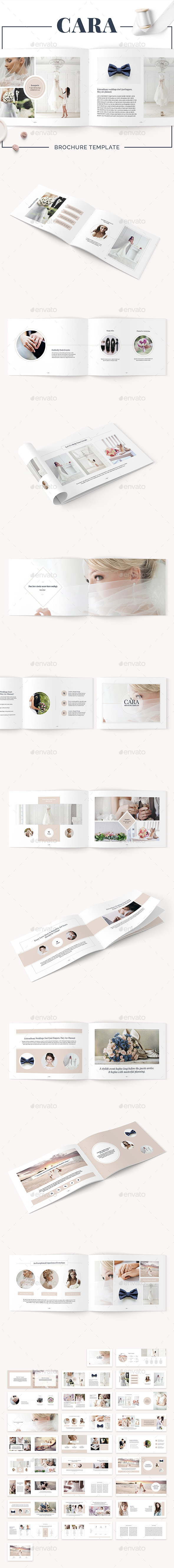 Cara Brochure Template - Catalogs Brochures