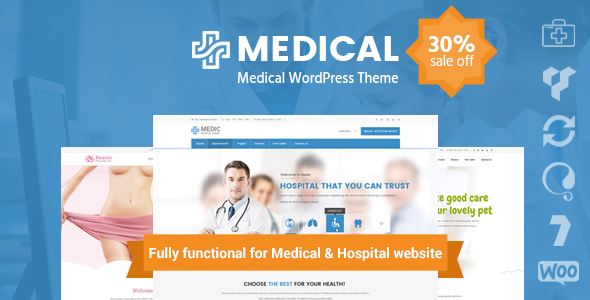 Medical Clinic Hospital WordPress Theme | inMedical - Health & Beauty Retail