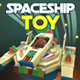 Vintage Spaceship Toy - 3DOcean Item for Sale