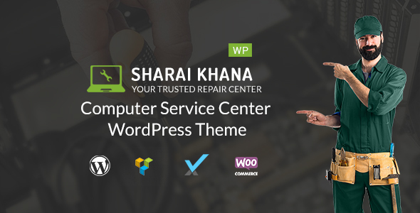 Sharai Khana - Computer Service Center WordPress Theme