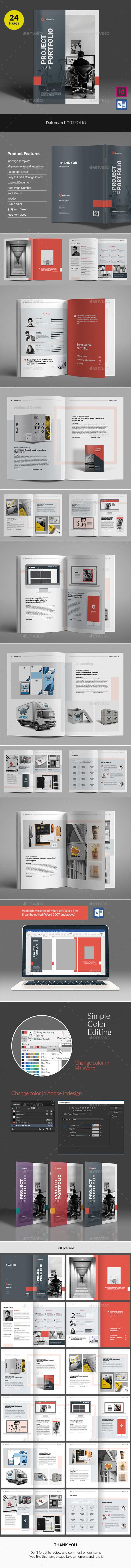 Daleman Project Portfolio - Portfolio Brochures