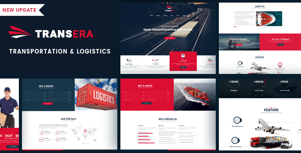 Logistics Transportation   Transera Logistics