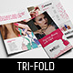 Nail Salon Tri-Fold Brochure Template - GraphicRiver Item for Sale