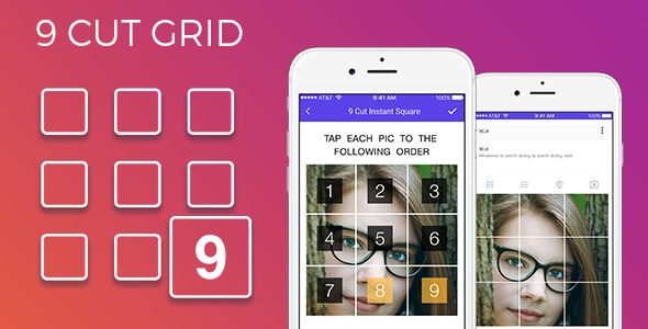 9 Insta grid for instagram & admob ad integration - CodeCanyon Item for Sale