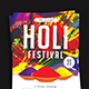 Holi Festival Flyer - GraphicRiver Item for Sale