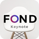 Fond  Keynote Template - GraphicRiver Item for Sale