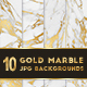 10 Gold Marble Texture Backgrounds - GraphicRiver Item for Sale